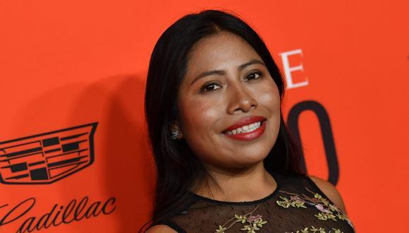 Yalitza Aparicio se mantiene lejana al cine, pero su activismo social crece a nivel mundial. (Foto: Angela Weiss / AFP)