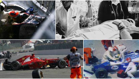 Fórmula 1: diez accidentes que quedaron marcados en la historia
