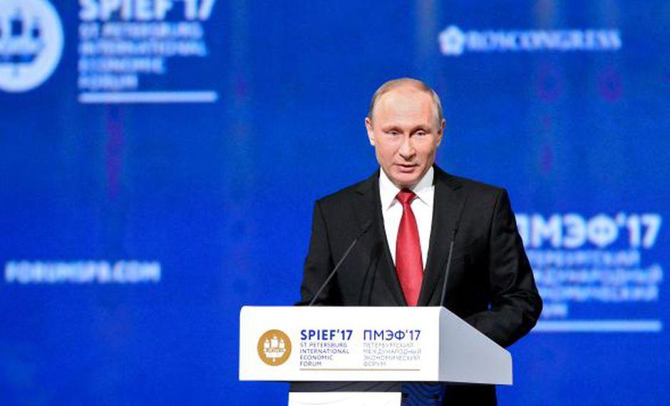 El presidente de Rusia, Vladimir Putin. (Foto:AFP)