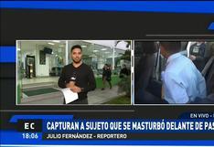 Ica: auxiliar de bus acusado de realizar actos obscenos delante de pasajera fue capturado