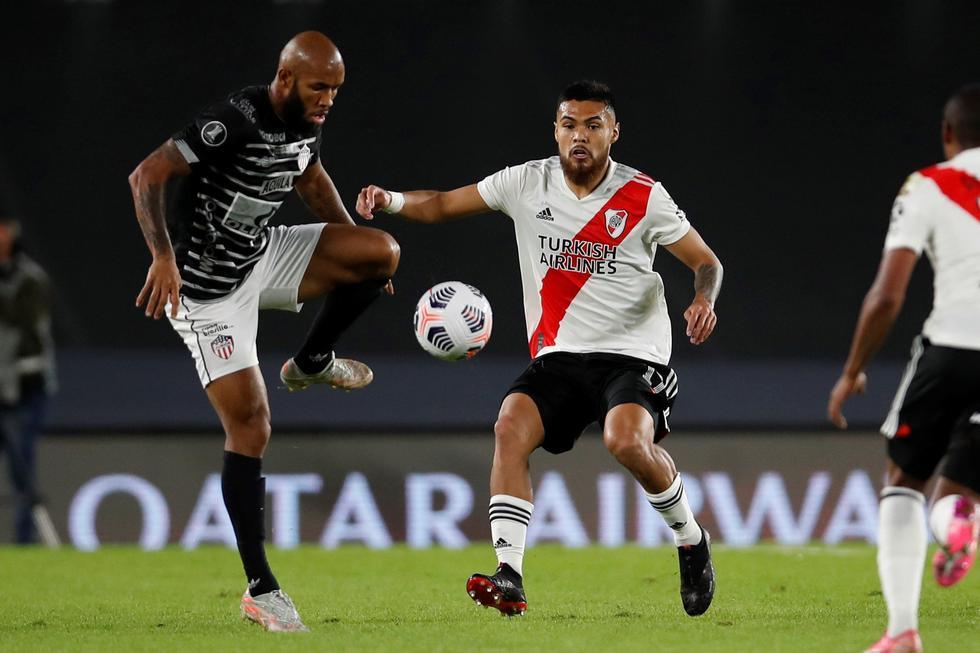 River Plate enfrentó a Junior por la Copa Libertadores