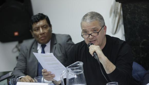 Primer Juzgado Unipersonal Penal de Piura condenó a un año de prisión suspendida al periodista Pedro Salinas por el delito de difamación agravada. (Foto: GEC)