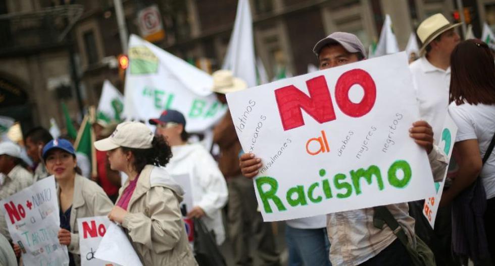 Una marcha contra el racismo en México. (Foto: Reuters)