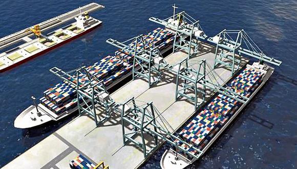 El megapuerto de Chancay demanda una inversión de US$ 3,000 millones. (Foto: GEC)