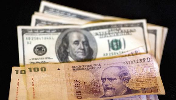 El peso argentina se ha depreciado 10% en lo que va de mayo, un resultado que no estaba previsto. (Foto: AP)