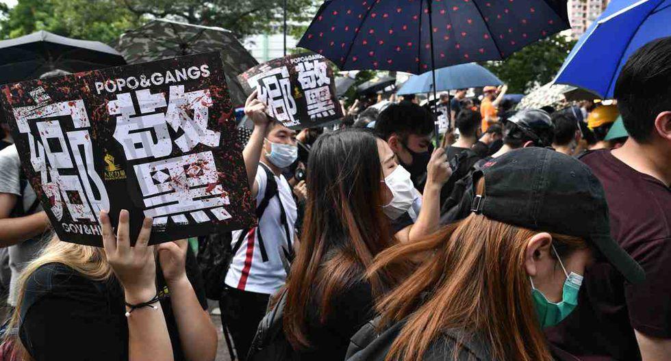 """Para convocar la manifestación algunos sugirieron que podrían pasar """"un día de compras"""" en Yuen Long y otros que la gente podría congregarse para jugar masivamente a Pokemon Go. (Foto: AFP)"""