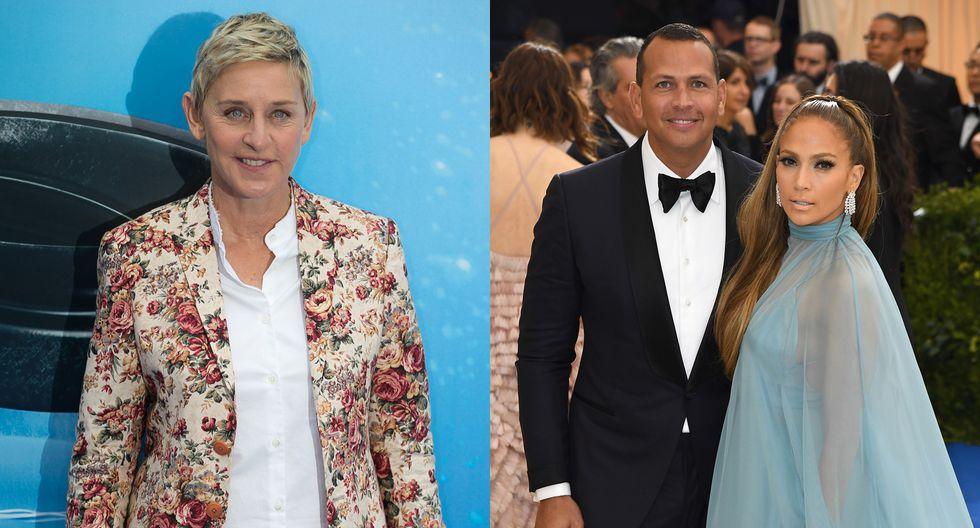 Ellen DeGeneres asegura que influyó en el compromiso de Jennifer Lopez y Alex Rodriguez. (Foto: Captura de pantalla/Instagram)