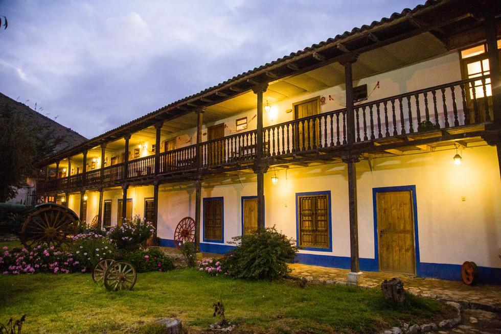 La Hacienda La Florida, a seis kilómetros de Tarma, sirvió de inspiración a Ribeyro para escribir su cuento 'Silvio en El Rosedal'. (Foto: Hacienda La Florida)