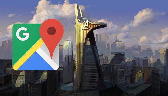 ¿Sabes en qué lugar de los Estados Unidos se encuentra la verdadera torre de los Avengers? Google Maps te lo dice. (Foto: Google)