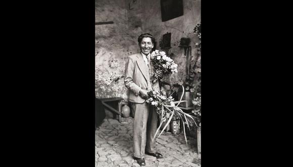 Autorretrato inédito de Martín Chambi. El 85% del patrimonio del fotógrafo aún no ha sido visto. (Foto: Archivo Fotográfico Martín Chambi)