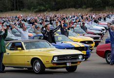 Bélgica: Ford reúne 1.000 Mustangs para romper récord mundial