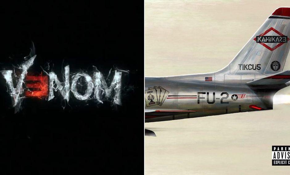 "Eminem lanzó ""Kamikaze"", con tema para la cinta ""Venom"". (Fotos: Difusión)"