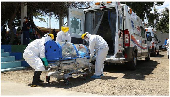 Tacna: Defensoría pide a hospitales mayor rigurosidad para identificar a fallecidos con COVID-19 (Foto referencial).