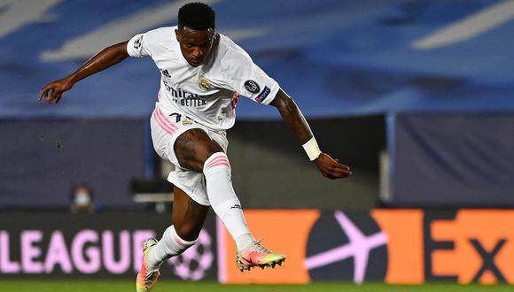 Vinícius Júnior le costó 45 millones al Real Madrid en el 2018, y hoy está cotizado en 40M por la página Transfermarkt. (Foto: AFP)