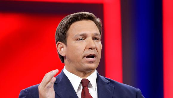 El republicano Ron DeSantis, gobernador de Florida. (Foto: Reuters)