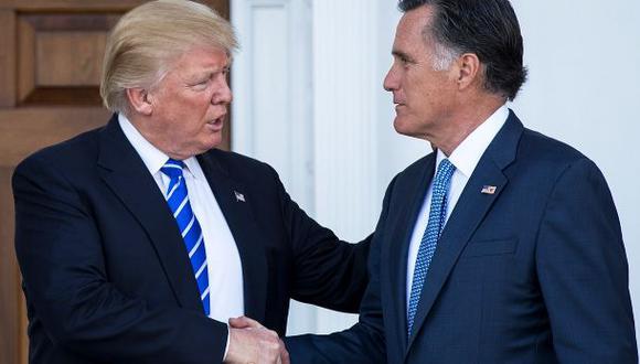 Trump y Romney dejan atrás su rivalidad en esperada reunión