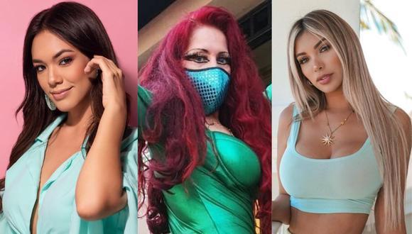 Jazmín Pinedo, Monique Pardo y Paula Manzanal protagonizan las noticias del entretenimiento local. (Foto: @jazminpinedo/@pardomonique/@paulamanzz).