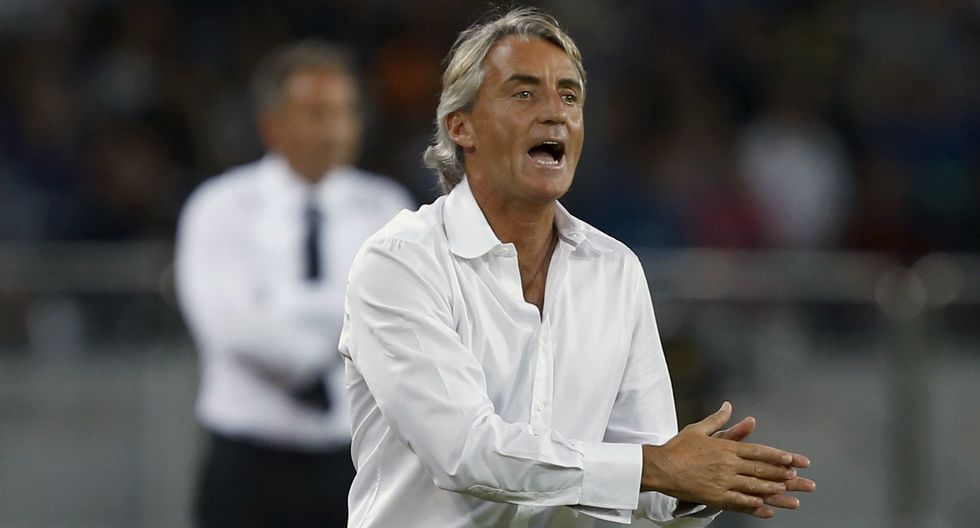 Selección italiana: Roberto Mancini es el principal candidato para asumir la 'Azzuri'. (Foto: AFP)
