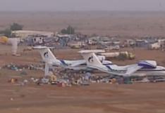El puente aéreo por amenazas terroristas en el Dakar 2000