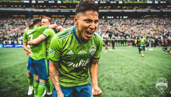 Raúl Ruidíaz no podrá enfrentar a LA Galaxy por la MLS (Foto: @soundersfc_es)