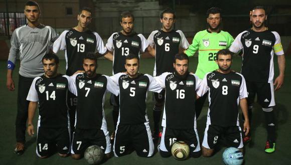 Esta es la selección de Siria en el exilio
