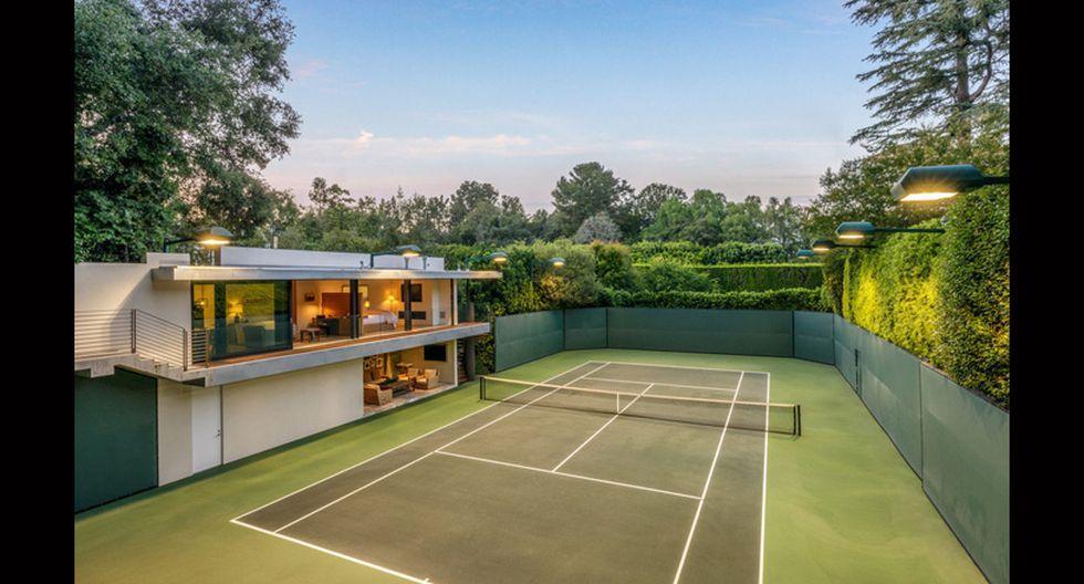 También se construyó una pista de tenis reglamentaria con un pabellón y un loft para invitados. (Foto: Difusión)