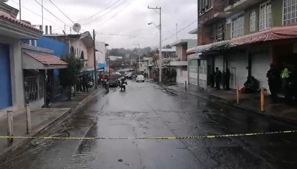 Al menos nueve personas murieron este lunes en un ataque armado en la ciudad mexicana de Uruapan, en el occidental estado de Michoacán. (EFE).