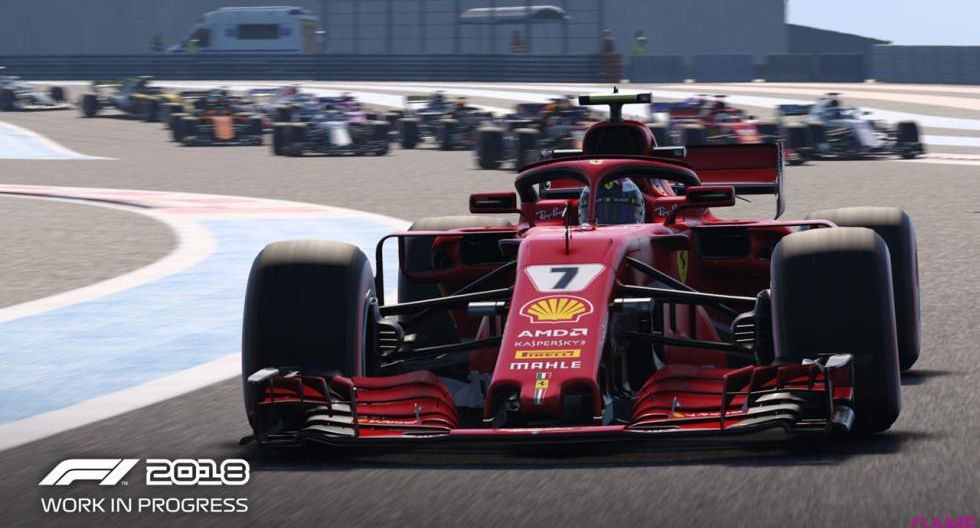 El videojuego contará con todos los pilotos de la temporada 2018. (Foto: Difusión)