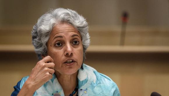 Soumya Swaminathan, científica en jefe de la OMS. (Foto: Fabrice COFFRINI / POOL / AFP).