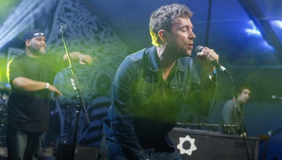 Damon Albarn adelantó en 'streaming' su primer disco solista