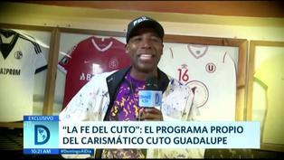 """'Cuto' Guadalupe muestra su faceta de entrevistador en """"La fe de Cuto"""""""
