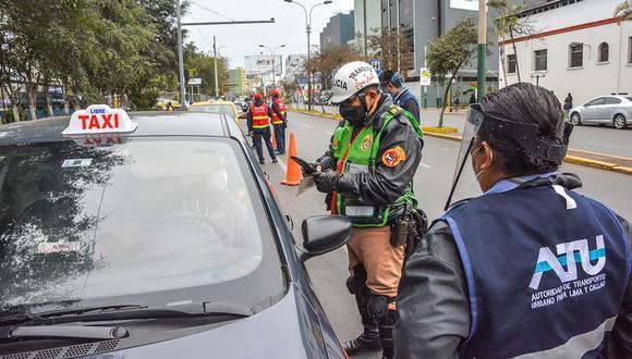 El conductor debe portar su Documento Nacional de Identidad (DNI). (Foto: ATU)