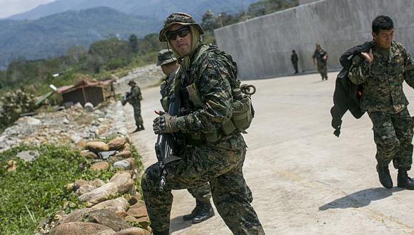 VRAEM: Militares y policías recibirán bonificación de S/1.800