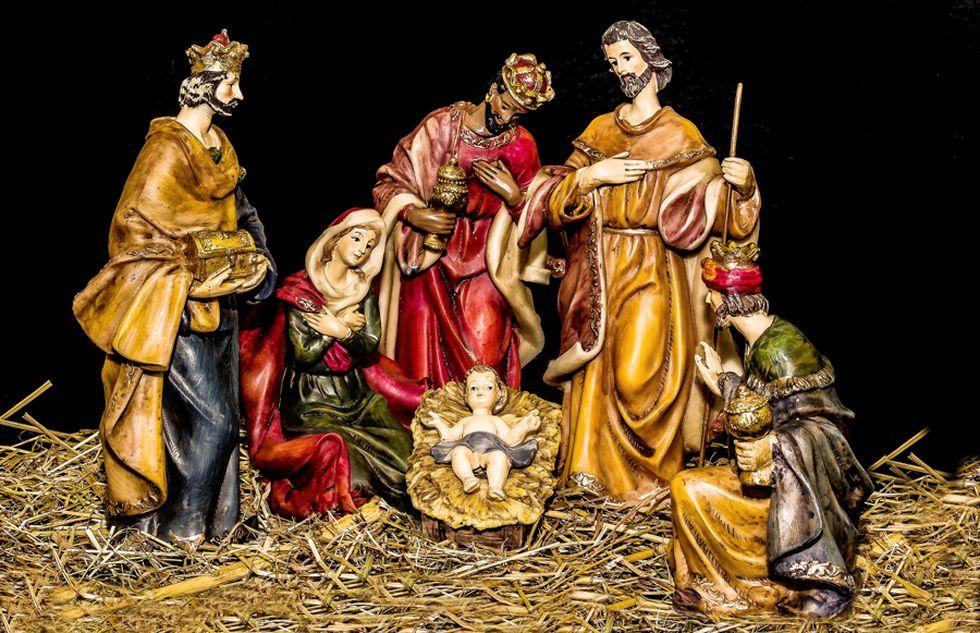 Los nombres actuales de los tres Reyes Magos -Melchor, Gaspar y Baltasar- aparecen por primera vez en el conocido mosaico de la Basílica de San Apolinar el Nuevo (Rávena, Italia), que data del siglo VI d. C. (Foto: AFP)