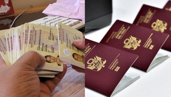 El MTC ha extendido hasta julio la vigencia de las licencias de conducir. Mientras, Migraciones mantiene un call center las 24 horas para consultas y precisa que pasaportes se recogerán una vez que se levante el estado de emergencia. (Fotos: Difusión)