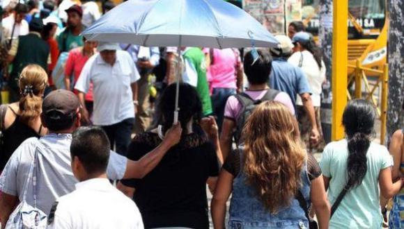 Temperaturas llegaron a los 35.6 grados en Loreto. (Foto: Andina)
