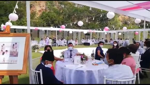 PNP frustra matrimonio donde asistieron al menos unas 80 personas en Huánuco | VIDEO (Canal N)