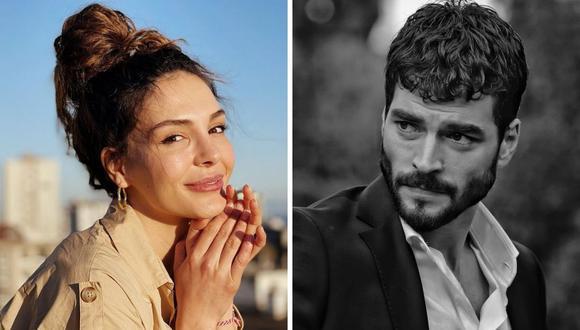 """Akin Akinözü y Ebru Sahin son los protagonistas de """"Hercai"""" y gracias a sus papeles han ganado premios. (Foto: Instagram @rebrusahin/ @akinakinozu)"""