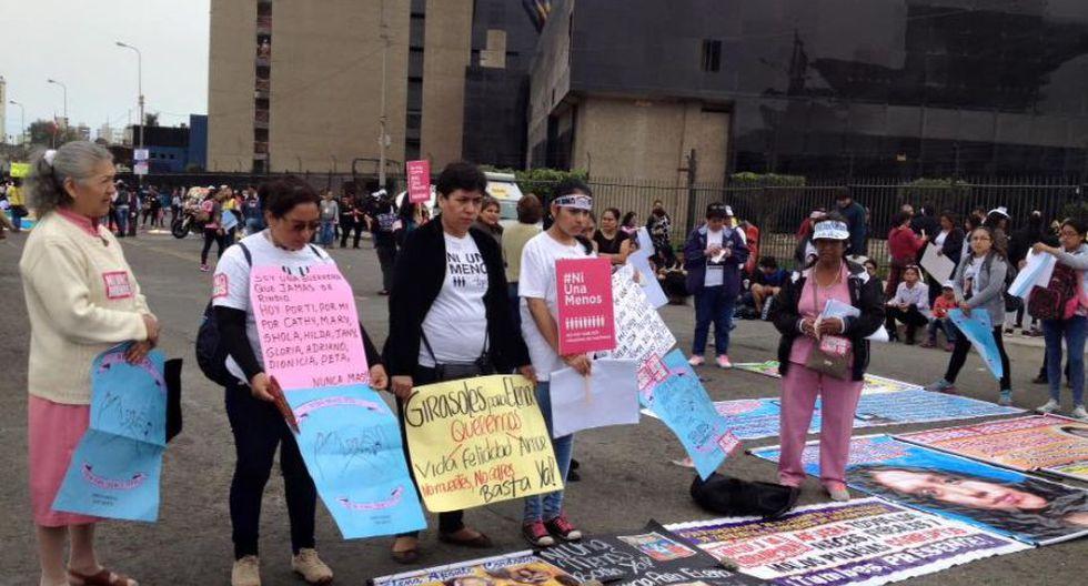#NiUnaMenos: imágenes de la concentración pre marcha [FOTOS] - 5