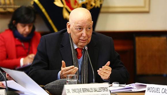 Enrique Bernales venía sufriendo una penosa enfermedad. (Foto: Agencia Andina)