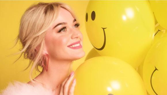 """Katy Perry lanza """"Smile"""" a días de dar a luz a su primer hijo. (Foto: @Katy Perry)"""