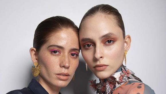 Esta vez los ojos serán los protagonistas de todo el makeup. Los colores intensos como el fucsia y naranja, marcarán la pauta. (Foto: Colombiamoda 2021/ Avon)
