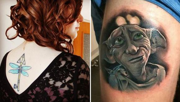 """Tatuajes Mágicos"", inspirados en Harry Potter"