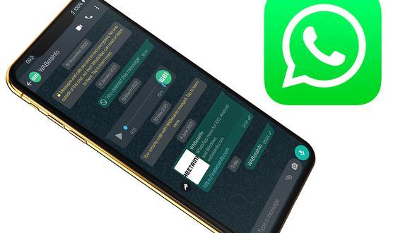 Así lucirá WhatsApp con el cambio de diseño que pronto llegará a los smartphones. (Foto: WABeta Info)