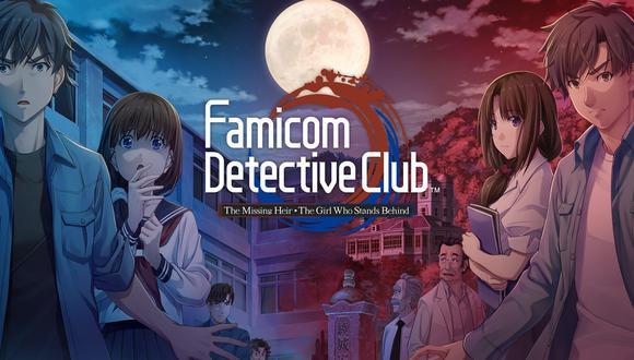 Famicom Detective Club: The Girl Who Stands Behind y The Missing Heir ya están disponibles en Nintendo Switch. (Imagen: Nintendo)