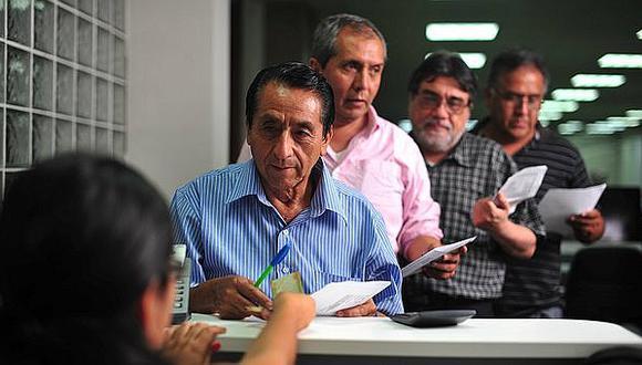 Aportes previsionales quedarán en manos de trabajadores para garantizar liquidez. (Foto: GEC)