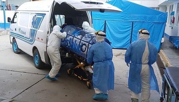 Solo en lo que va de enero, ya se han bordeado las 200 muertes a causa del COVID-19 en Huánuco.(Foto: archivo / GEC)