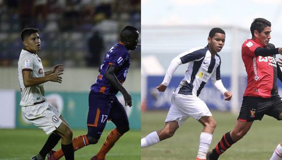 Luis Valverde en Universitario, y Miguel Cornejo en Alianza Lima, son opciones de recambio y además suman en la bolsa de minutos. (Foto: Liga 1 / GEC)