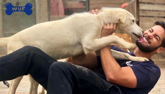 Hace un par de meses, Andrés Wiese visitó a los perros del albergue Voz Animal. Esta vez le tocó visitar al albergue Vida Digna.