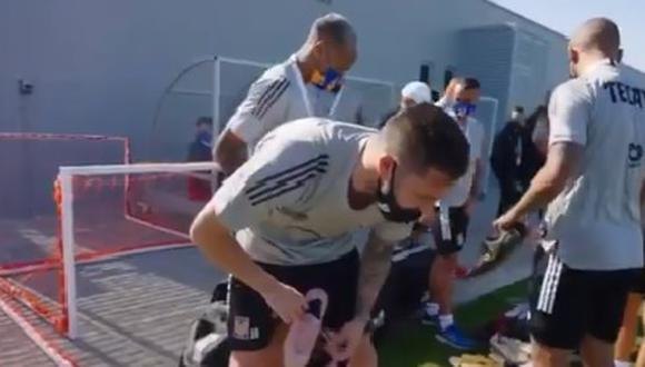 Gignac acumula seis temporadas con la camiseta del Tigres. (Foto: Captura)